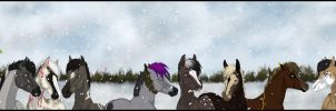 GA: A Very Foalsome Christmas by Paardjee