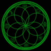 Earth Spell Runic Circle by Celesta1805