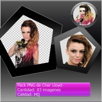 Pack PNG de Cher Lloyd by PhotoshopLand2