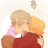 Mistletoe for Melasome by Mad-Hattan