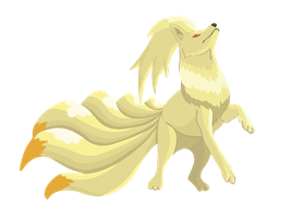 Ninetales by Shinri-san