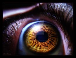 Eye -. by BaselMahmoud