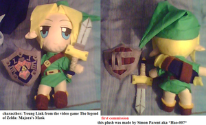 Majora's Mask Young Link plushie by Hao-007