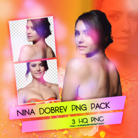Nina Dobrev Png Pack by SuBiebs