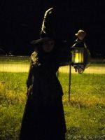 Witch and lights by MaxOKryn