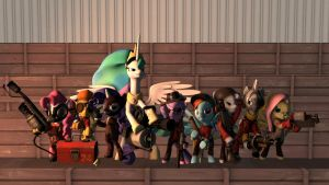 [SFM] Meet them ALL by SourceRabbit