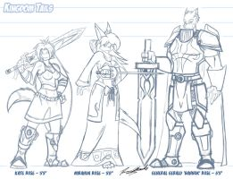 KT_Rose Family Sketch by Duaxer