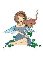 Clover Fairy Colored by Maiko-Girl