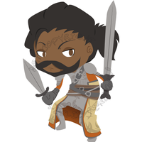 DAO Chibi, Series 1 - Duncan by Destined2Rock