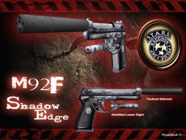 Beretta 92F 'Shadow Edge' by RoadBull