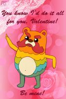 Valentine Impossibear by kelseyleah