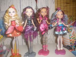 Ever After High Dolls by Demonqueen23