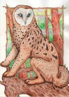 Mr. Owl by SilverTail14