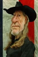 Willie Nelson by wooden-horse