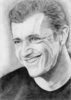 Mel Gibson by SaviourMachine