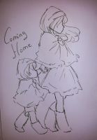 Coming Home (sketch) by yui-cute