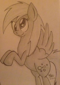 Derpy Hooves by SpaceCat-Chan