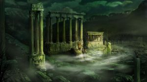 Ruined Temple by AnthonyChristou1980