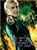 Draco Malfoy by HarleKlown