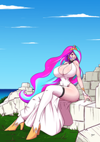 Celestia summer castle ruins by N647