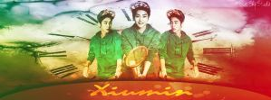 Xiumin Facebook Cover by ParkYuri666