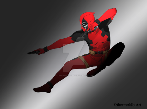 Dpool by OtherworldlyArt
