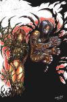 Witchblade and The Darkness by jesonite