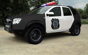 Dacia Duster - Police by GaryRoswell007