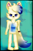 Jade the wolf!! ~OC~ by Lafergas