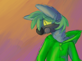an artist screams in the distance by Closet-Furry