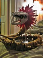 Pipecleaner Zabimaru Finished by DarkSaberCat
