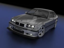 BMW E36 M3 studio by bmw325ci