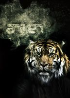 Smoking Tiger by An1ken