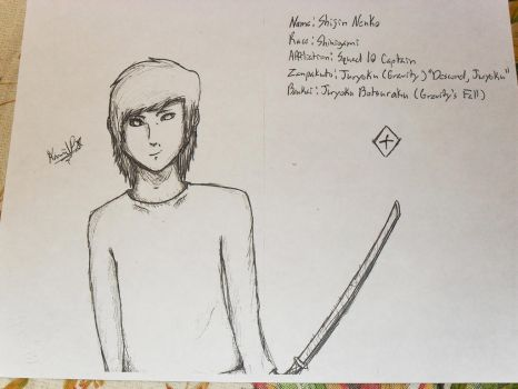 Bleach OC: Shijin Nenko by EverybodyStepBack