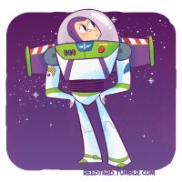 Buzz Lightyear Again by reed682