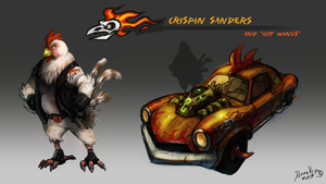 The Crispin' Chicken by TeaDino
