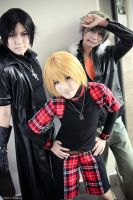 Togainu no Chi: 3 Dogs Team by SilentCircus90