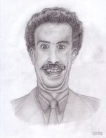 Borat Sagdiyev by Laurent-Romero