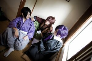 Shinsengumi Samurai by kushiyaki-group