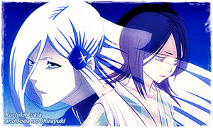 Rukia and Shirayuki by simplyKia