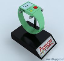 Adventure Time BMO Watch Concept by Marty--McFly