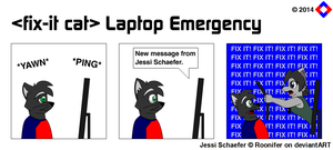 Fix-It Cat - Laptop Emergency by NS-Games
