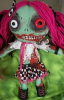 Betsy the Zombie by dollmaker88
