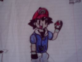 Ash ketchum speed drawing by X-Prince-Connor-X