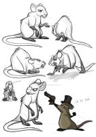Rat Queen Sketches 200711 by protowilson