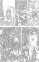 Something Evil page 6 pencils by RudyVasquez