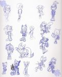 1-7-15 Characters by elisonic12