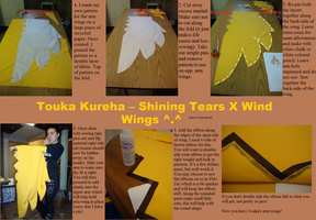 Touka Kureha Arm Wings by TheRestlessCosplay