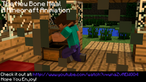 The New Bone Meal - Minecraft Animation by iTzSnD