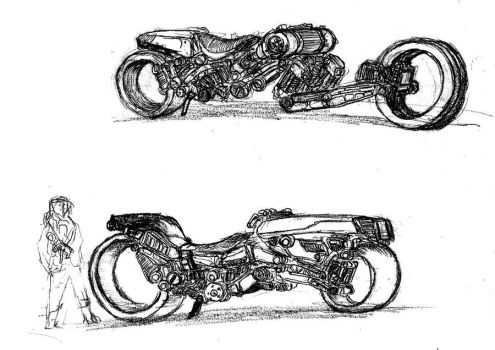 Bikes sketch by fish333